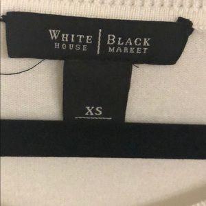White House Black Market Sweaters - White 3/4 sleeve sweater